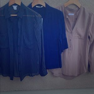 Set of 3 ultra stylish blouses